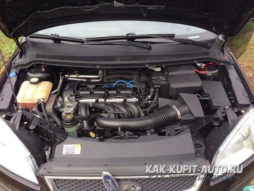 Форд Фокус 2 двигатель 1.6 100 л/с