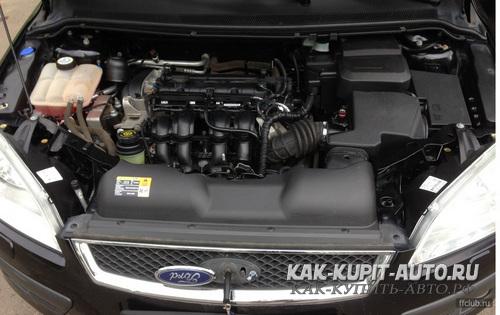 Форд Фокус 2 двигатель 1.6 115 л/с