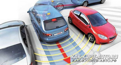 Датчики парковки