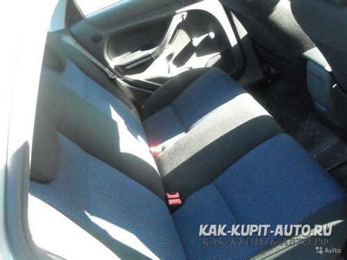 Задние сиденья Форд Фокус 2