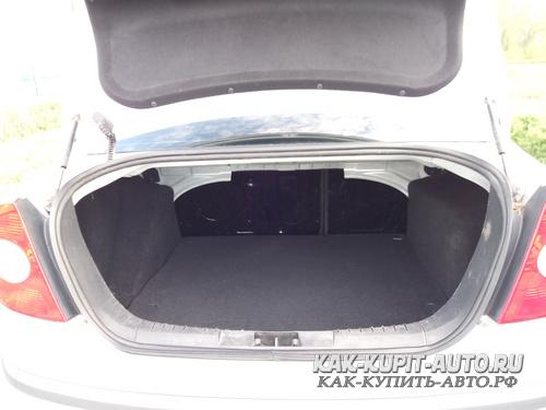 Форд Фокус 2 багажник седана
