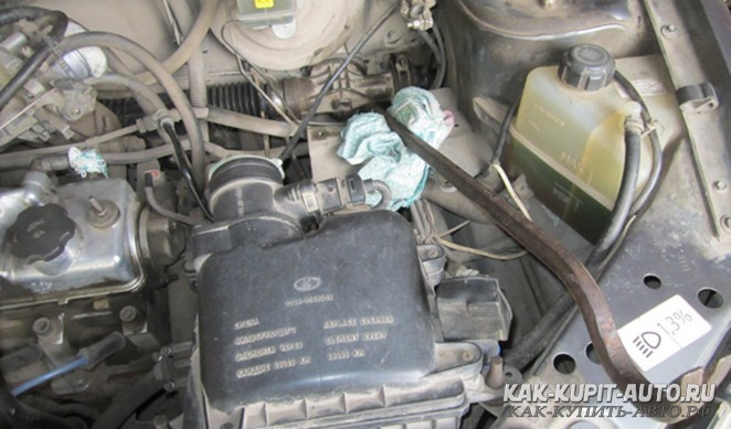 Установка рулевой рейки на автомобиль