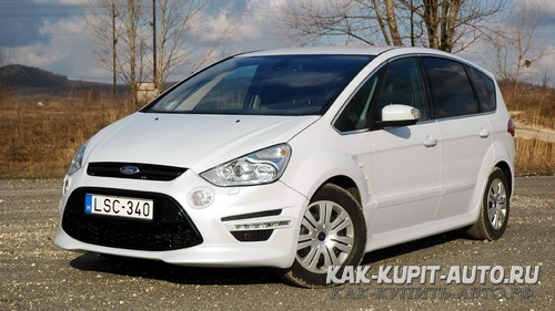 Ford S-max большой минивен