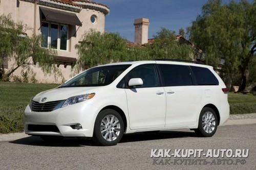 Toyota Sienna - большой минивен для американского рынка