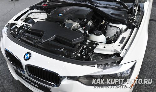 Мотор BMW 3-й серии