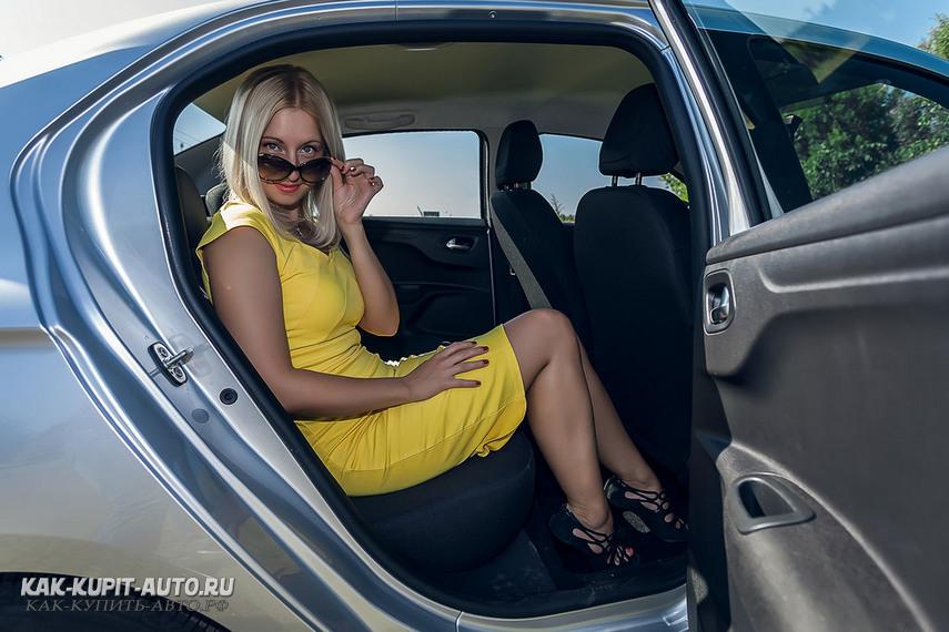 Удобство посадки в авто