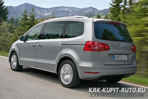 Volkswagen Sharan - минивен средних размеров