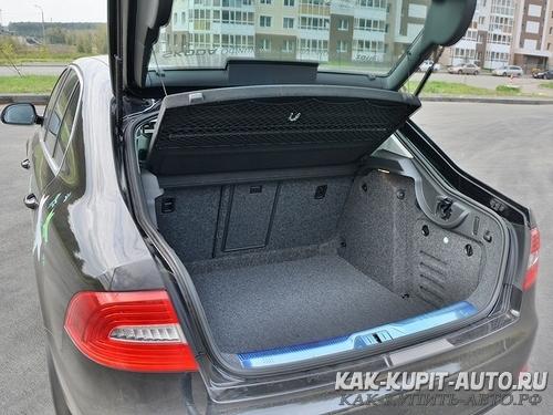 Объем багажника Lada Granta