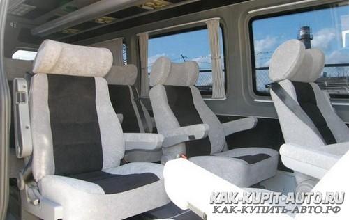 Микроавтобус - комфортный автомобиль для перевозки людей
