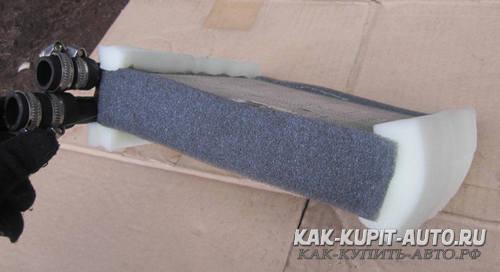 Уплотнение радиатора печки Калина
