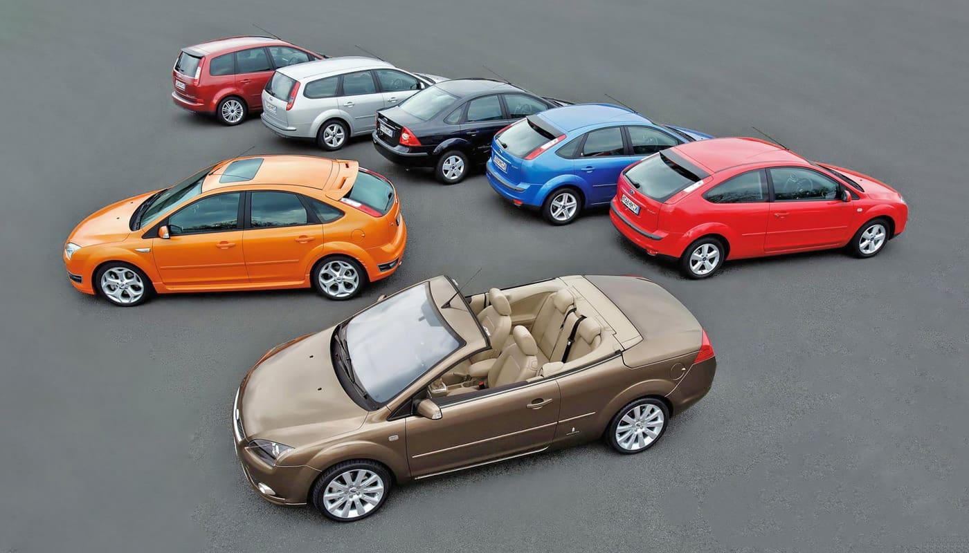 Какие бывают типы кузовов легковых автомобилей