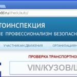 Проверка по VIN коду в ГИБДД