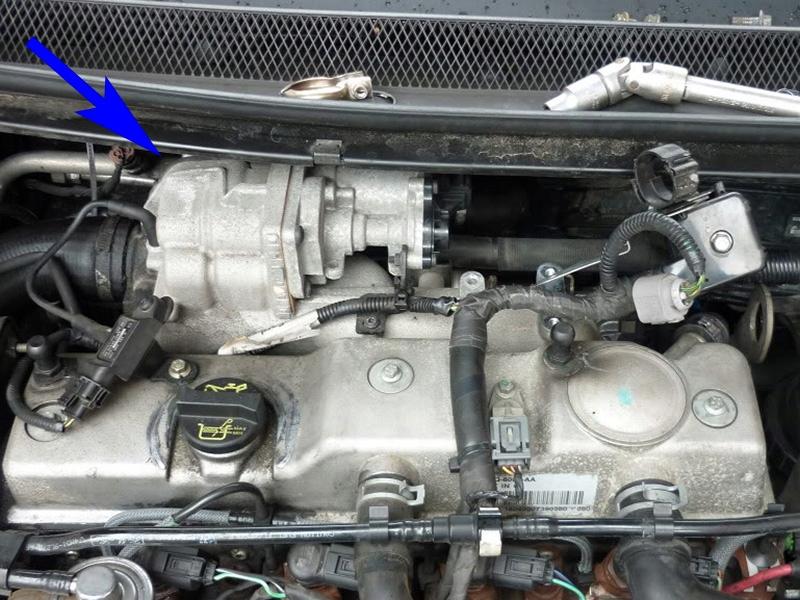 Клапан EGR форд-дизеля 1.8 TDCi