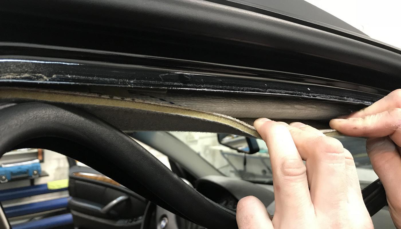 Проверка салона автомобиля