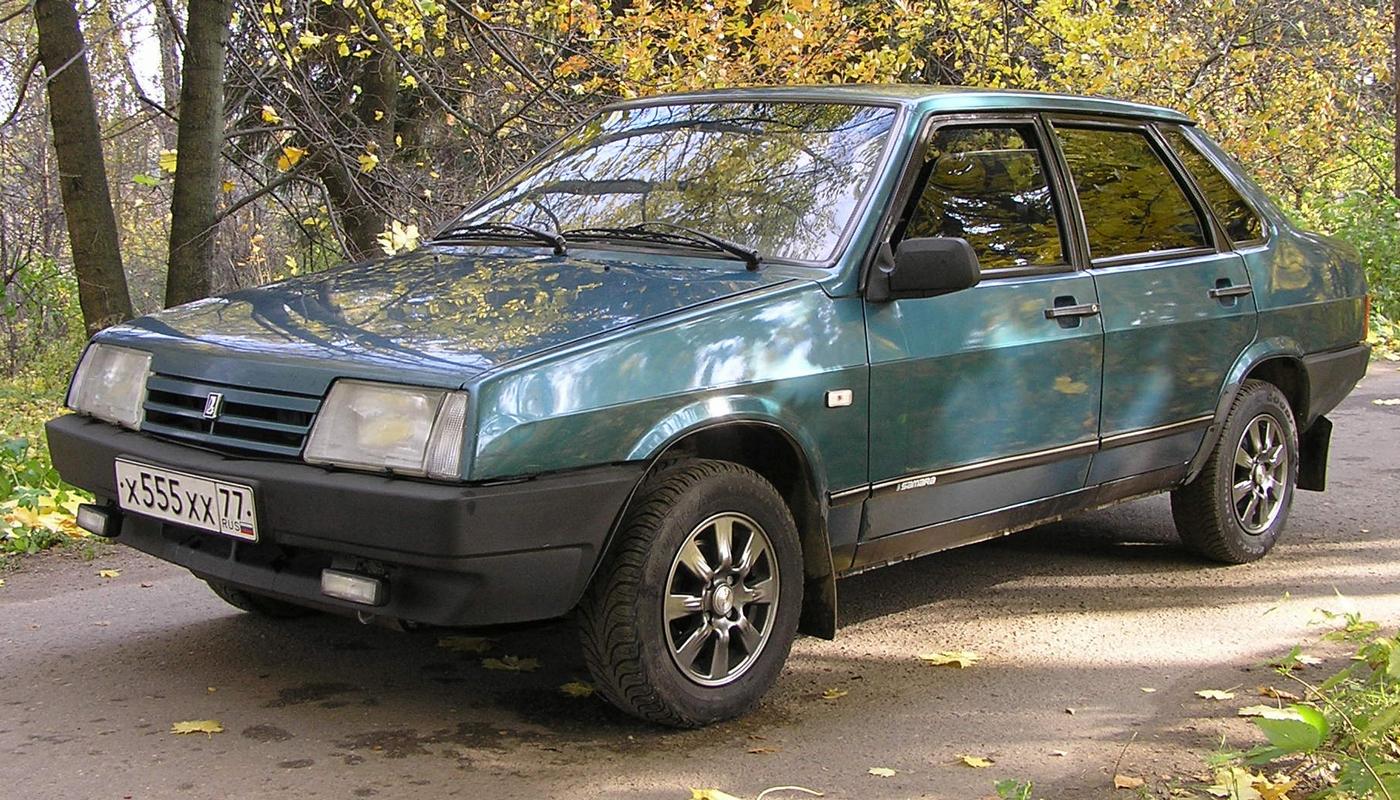 """Lada Samara """"99-я"""" сразу вышла с длинным крылом"""