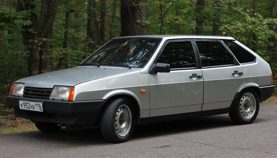 """Lada Samara - """"девятка"""" с """"длинным крылом"""""""